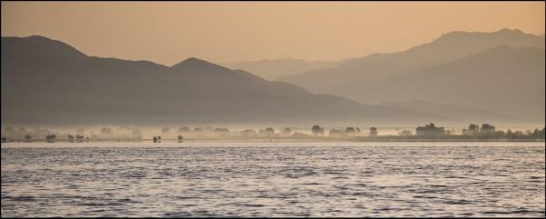 Daybreak - early morning mist by jimobee