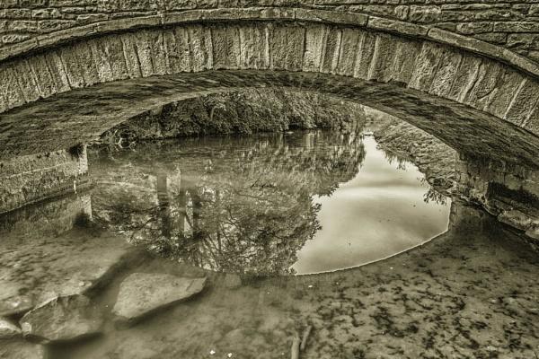Rocks in the stream by BillRookery