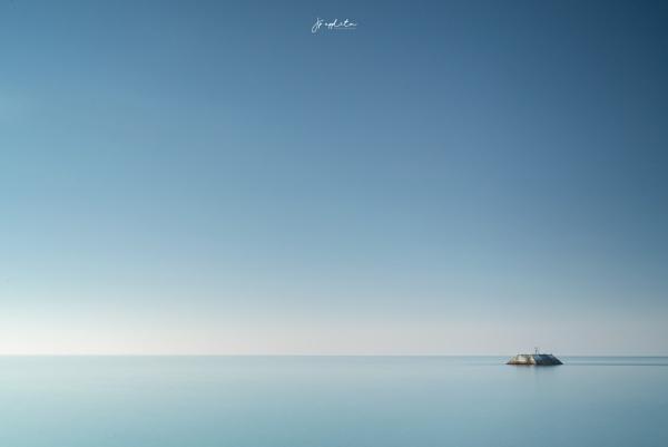 Negative Blue by jpappleton