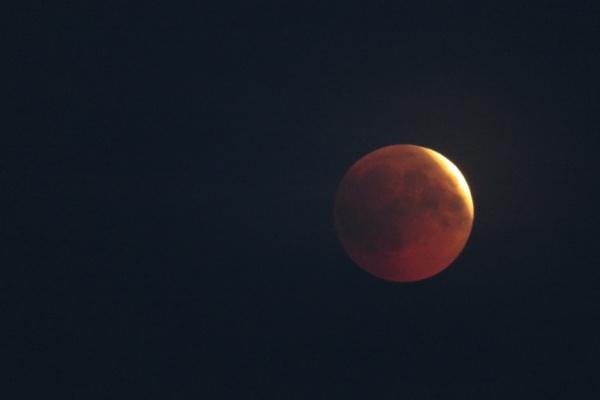 Eclipse of the moon 27.7.2018 Spytihněv,Czech Republic