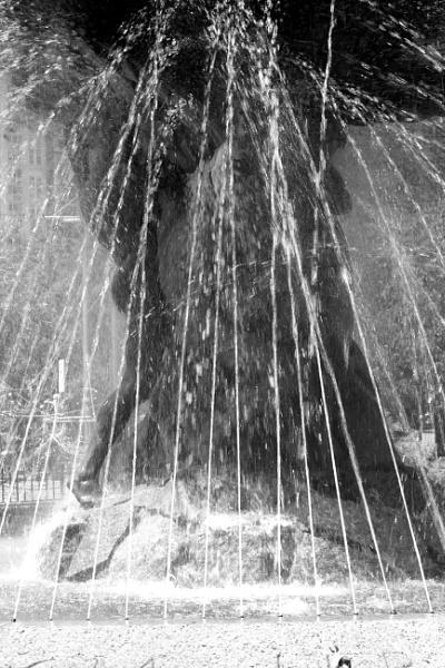 "~ \""Burnside Fountain II\"" by LexEquine"