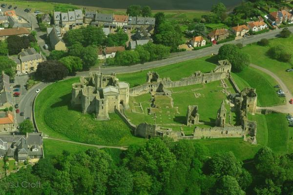 Warkworth Castle by JMCroft