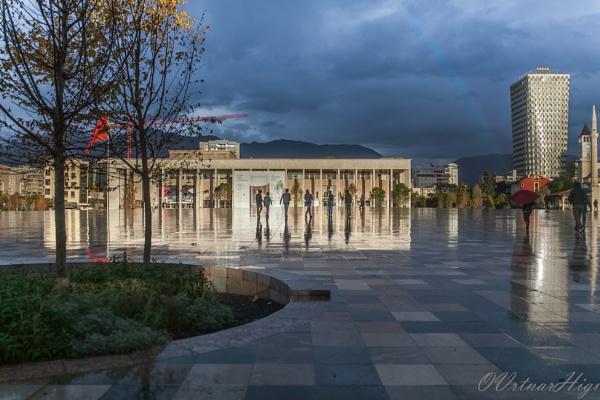 Skanderbeg Square, Tirana by OVrtnarHigi