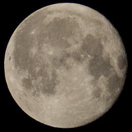 Full Moon July 27th 2018