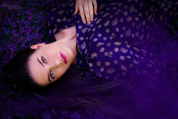 purple dream by MyOwnWonderland