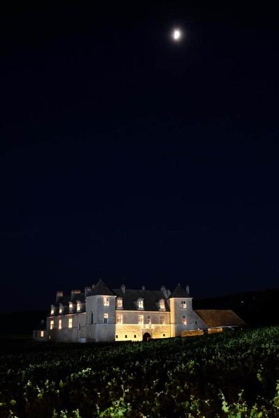 famous vineyard Clos-Vougeot by jeakmalt