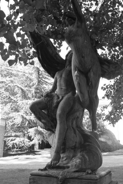 "~ \""Bronze Twins\"" by LexEquine"