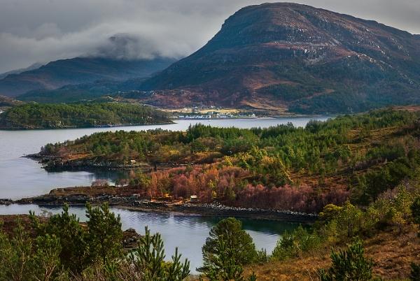 Loch Sheldaig by AndrewAlbert