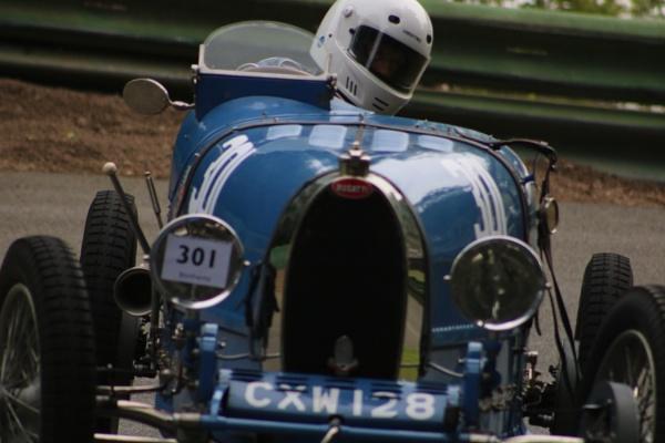 Bugatti Type 57? by mountains