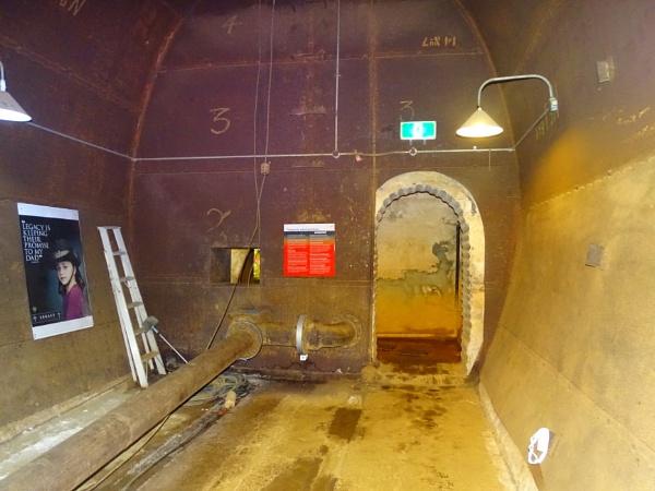 WWII underground fuel storage tank entrance, Darwin Harbour, Australia. by YoungGrandad