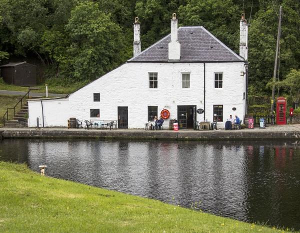 Coffee Shop Crinan by Irishkate