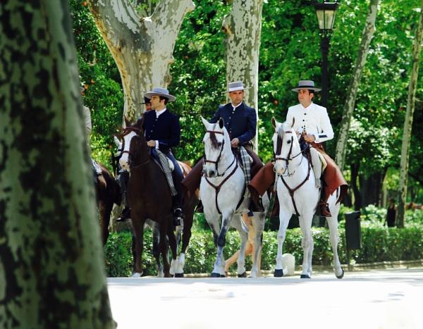 Spanish Horsemen by Guzzi