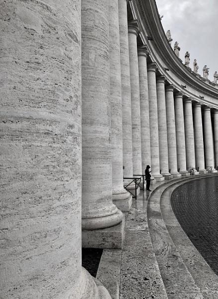 St Peters Pillars by Guzzi