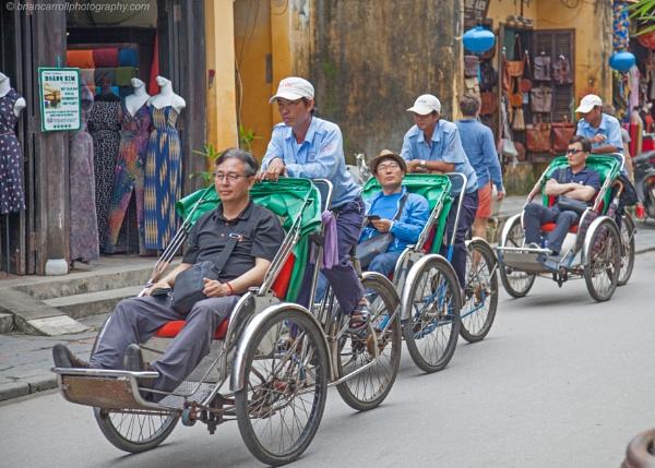 Cycle Rickshaws, Hoi An, Vietnam by brian17302