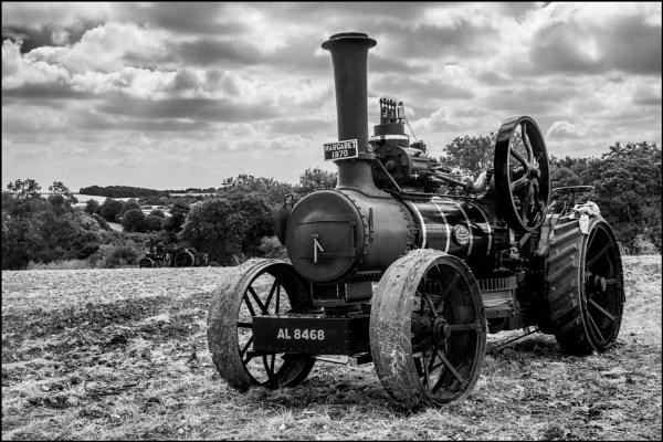 "Ploughing Engine \""Margaret\"" 1870 by bwlchmawr"