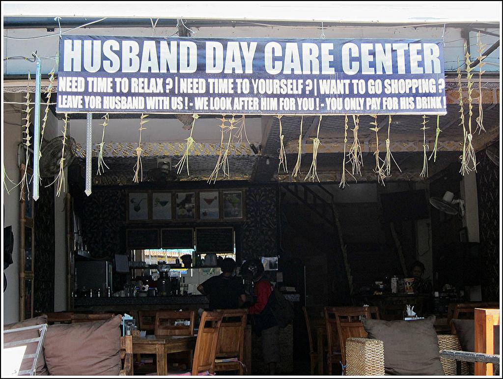Husband Day Care Centre .... silly Sunday