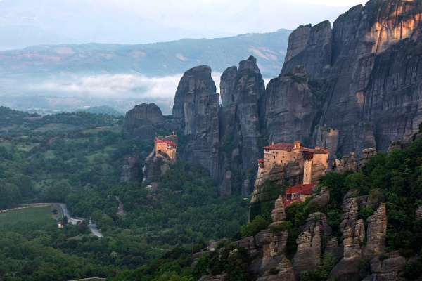 Meteora morning by Photoseeker
