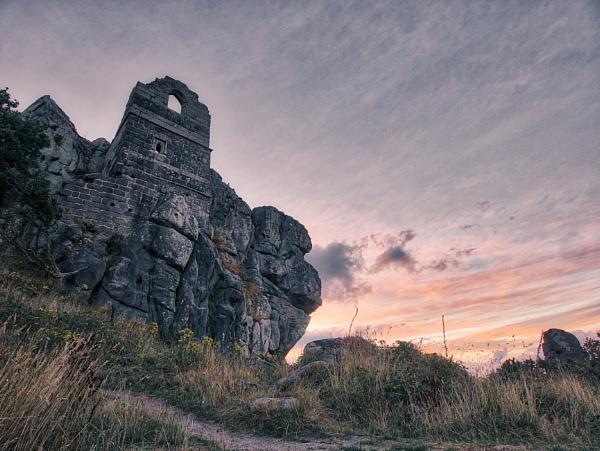 Roche Rock, Cornwall by timeslip1974