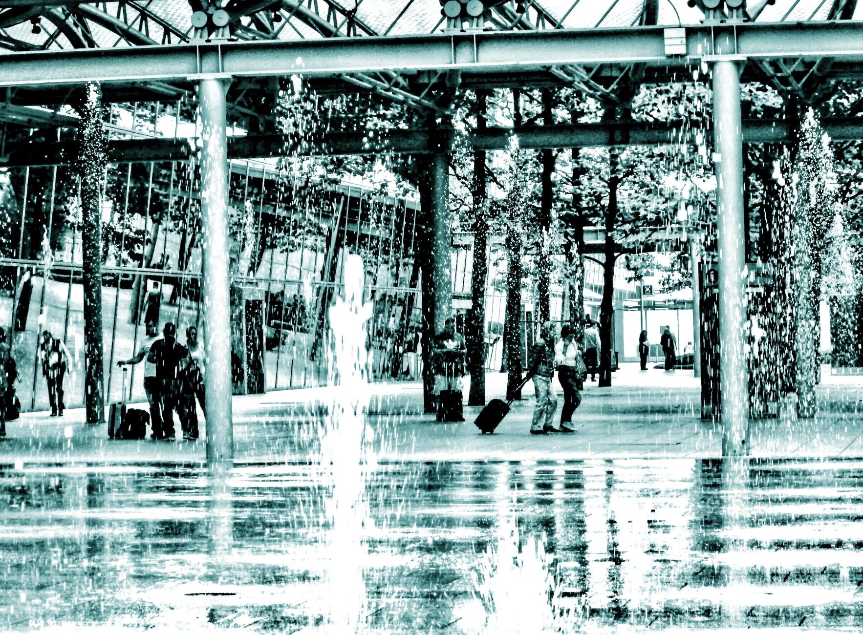 Fountain fury