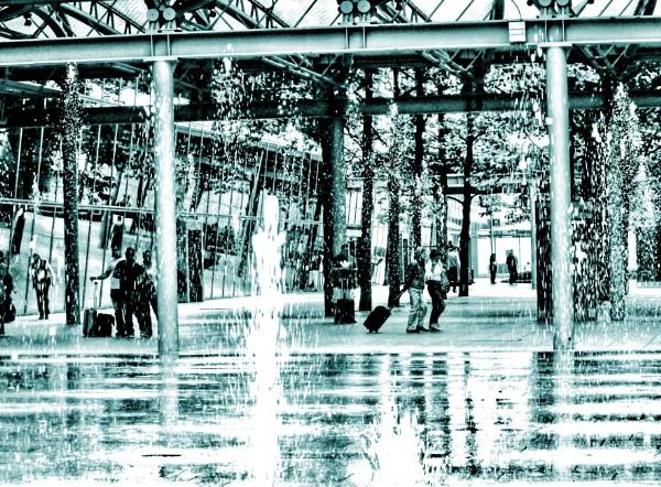 Fountain fury by KrazyKA