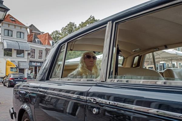 Woman in Rolls Royce by joop_