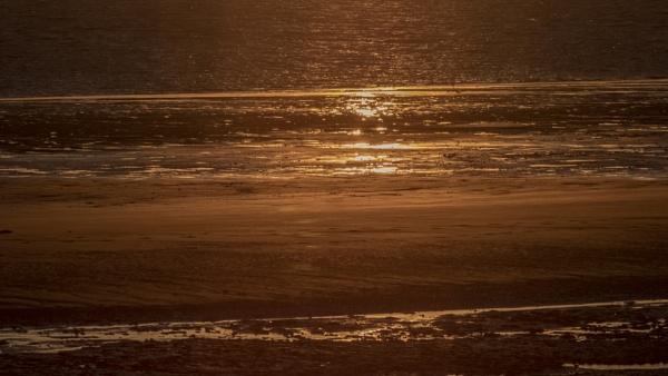 Seaside sunset by OverthehillPhil