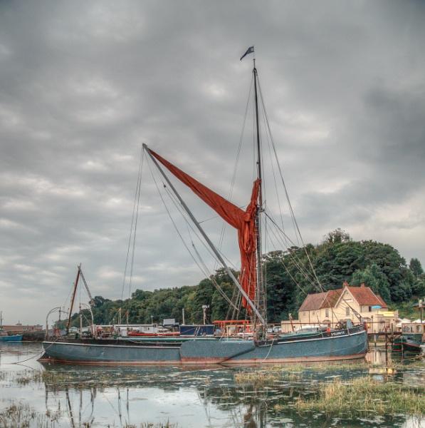 Wherry at Pin Mill, Suffolk