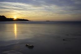 Harbor Beach, Maine dawn