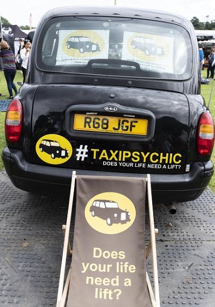 Black (Magic) Cab? by AJG