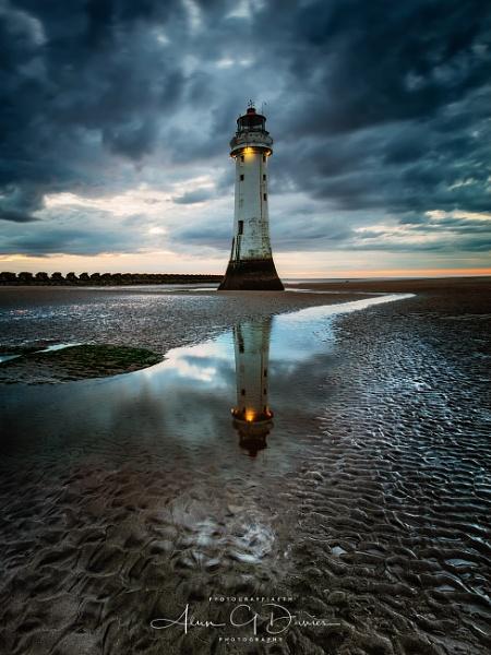 Perch Rock Lighthouse, New Brighton by Tynnwrlluniau