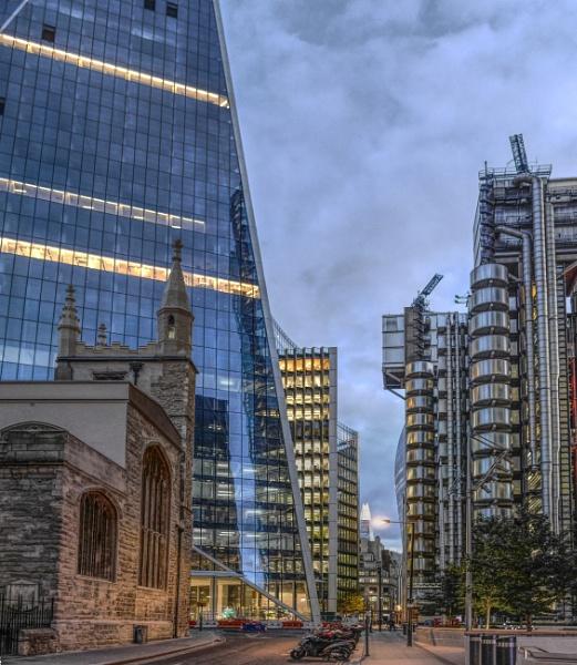 Financial area City of London by StevenBest