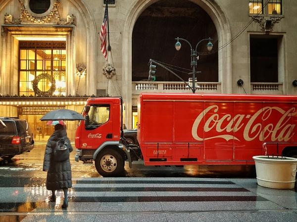 Coca-Cola Rain by BydoR9