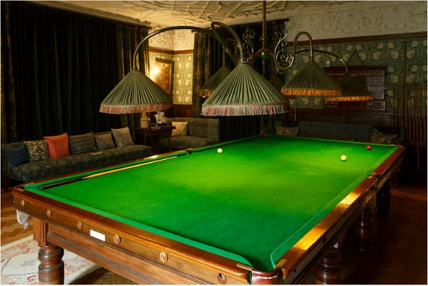 The Billiard Room by dark_lord