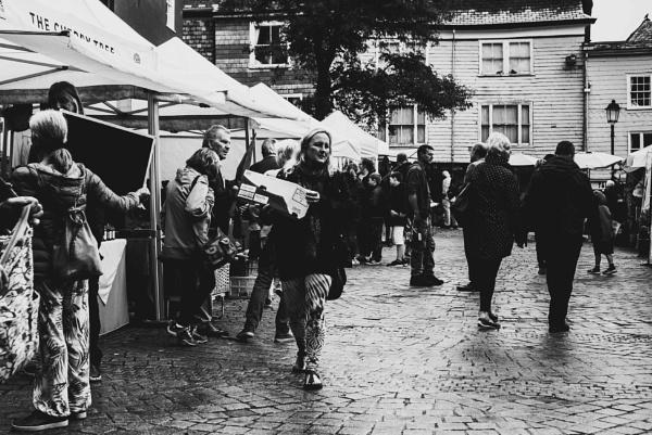 Totnes Market Scene by Lord_Raglan