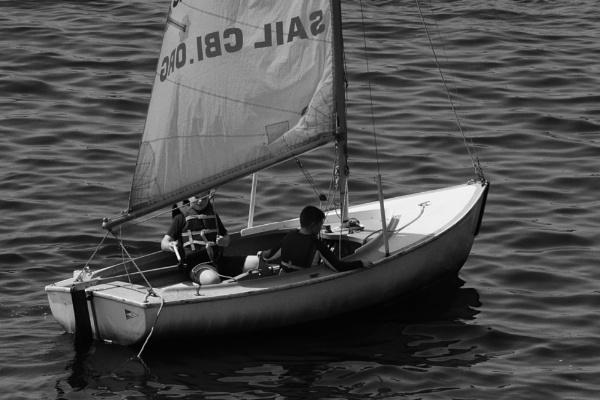Sailing the Charles River by PetesPix