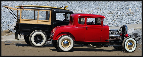 Hot Rod Beach by Morpyre