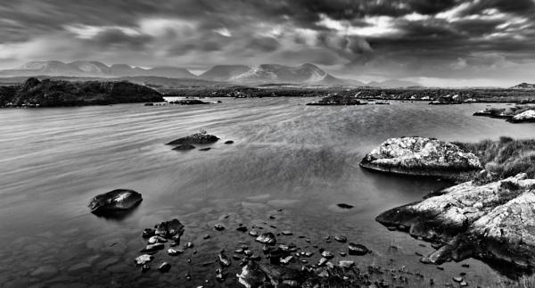 Windswept, Connemara, Ireland by BobinAus
