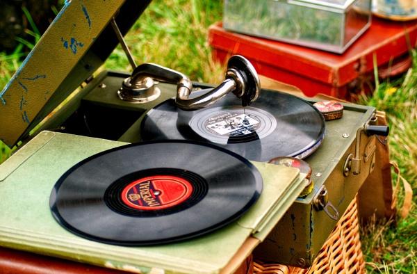 Vintage vinyl by KrazyKA