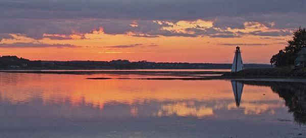 Sunset Prince Edward Island by Janetdinah