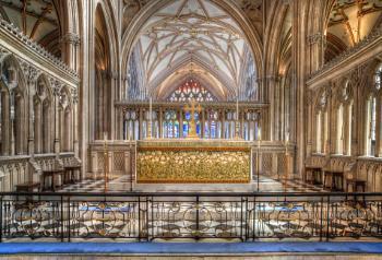 The Altar, St Mary Redcliffe Parish Church, Bristol