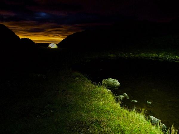 Wild Camping by johnhiggins