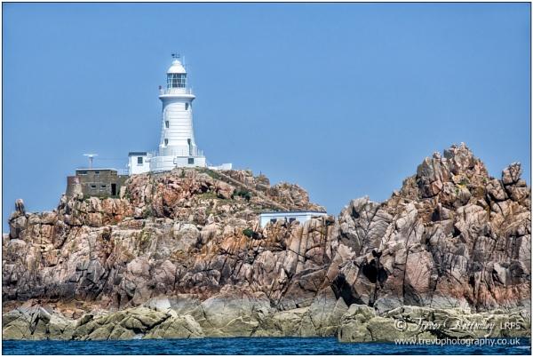 La Corbière Lighthouse: a different view by TrevBatWCC