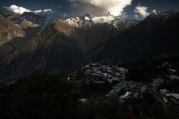 A small Himalayan Village