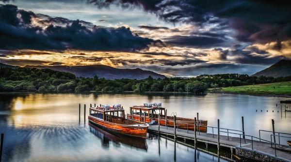 Derwentwater Ferry by Pete2453