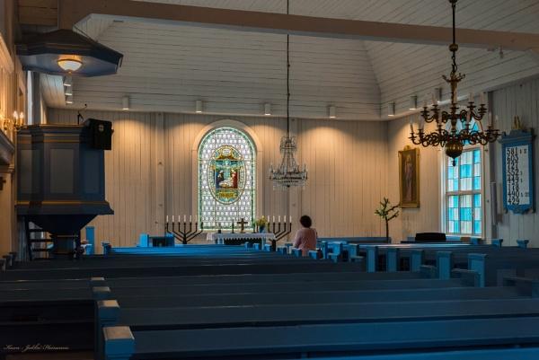 Karkkila church. by kuvailija