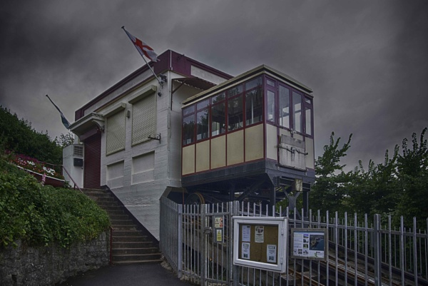 Babbacombe Cliff Railway by Lord_Raglan