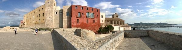 Ibiza Castle by ColleenA