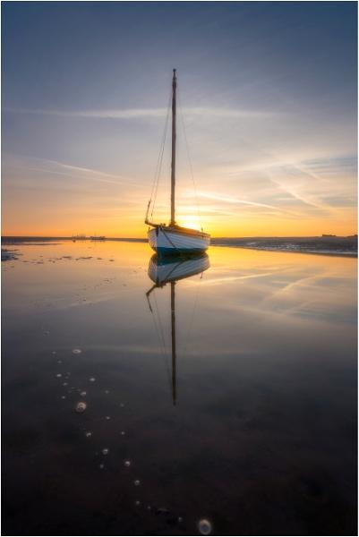 Sailboat Sunrise. by Satlight