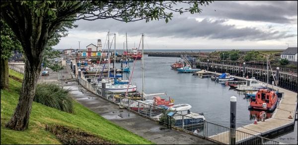 Girvan Harbour.