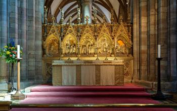 The High Altar, Hereford Cathedral, England